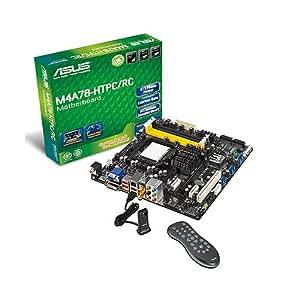 ASUS M4A78-HTPC/RC - Placa base (DDR2-SDRAM, SO-DIMM, Dual, AMD, Athlon, Athlon II, Sempron, Phenom, Socket AM3)