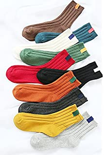 Generic Korean version of the new 5 pairs of socks Ms. candy-colored line