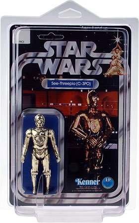 "3-pack 6/"" W x 9/"" H x 2.25/"" D Protech STAR1 Star Case Storage//Display for Star Wars Carded Figures"