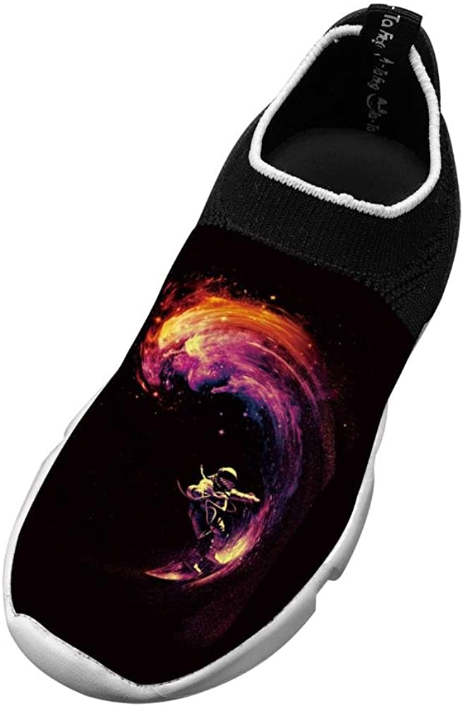 Space Surfing New Style Fly Knit Shoes Girl Casual Sports Sneakers