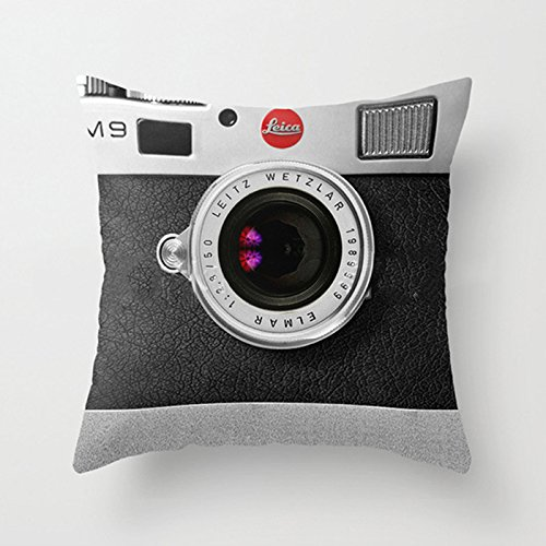 Abdul. Soft Camera Printed Pillow Case Walking Dead Plush Pillowcase for Office Printed Bedroom Chair Seat Cushion housse de coussin