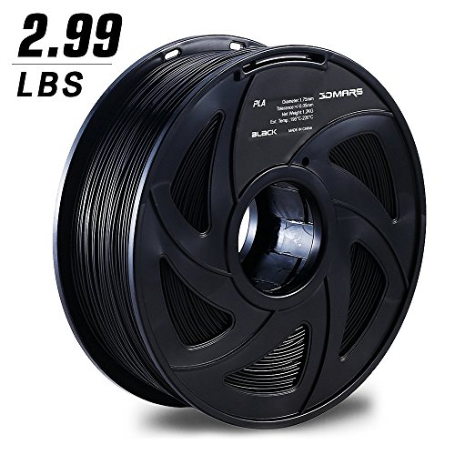 3d-mars-black-3d-printing-filament175mm-3d-printer-pla-filamentdimensional-accuracy-005mm12kg-spool-