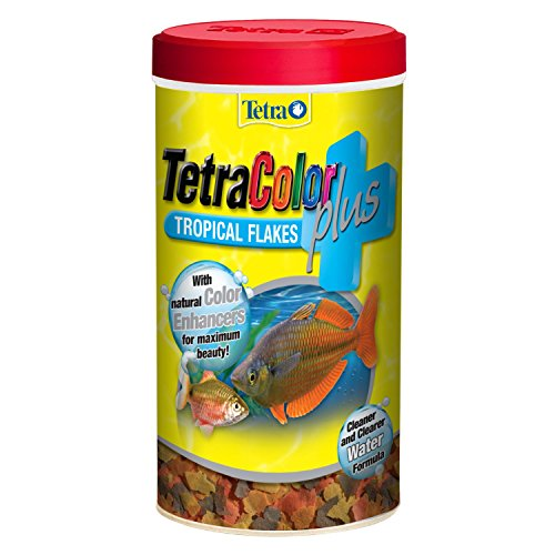 TetraColor Plus Tropical Flakes, 0.42 oz. ()
