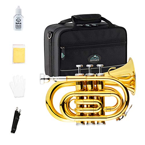 EastRock Pocket Trumpet Gold