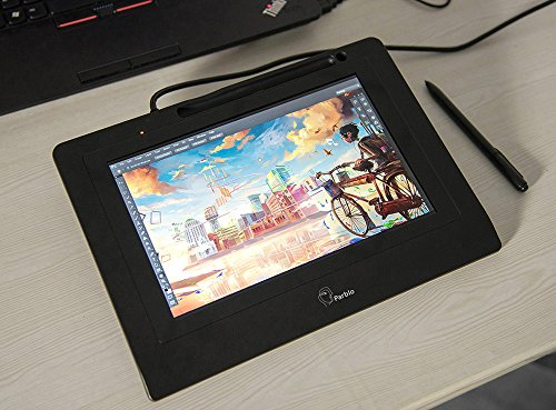 Parblo Coast10 10.1'' Digital Pen Tablet Display Drawing Monitor 10.1 Inch with Cordless and Battery-free Pen+ 4ports USB3.0 Hub+ Glove by Parblo (Image #7)