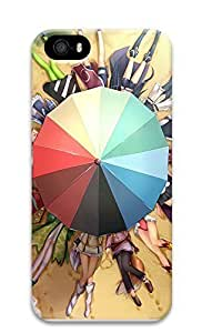 Case For Sam Sung Galaxy S4 I9500 Cover Beach Umbrellas And Cartoon Girls 3D Custom Case For Sam Sung Galaxy S4 I9500 Cover Cover