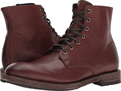9accda92fc1 FRYE Men's Bowery Lace Up Ankle Bootie Copper 12 M