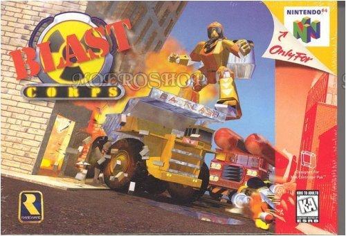 Blast Corps nintendo 64
