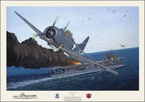 """Dauntless Courage by David Gray SBD Dauntless Signed by pilot /""""Dusty/"""" Kleiss"""