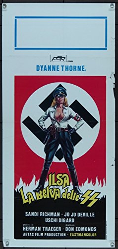 ILSA, SHE WOLF OF THE SS (1975) Original ITALIAN Movie Poster
