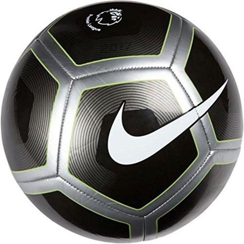 Nike Premier League Pitch Ball (Metallic Black/Silver) (5)