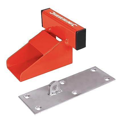Silverline 538487 Sistema de Seguridad para Puertas de Garaje, Rojo, 150 mm