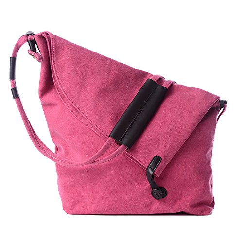 Female Leather Fashion UNYU Crossbody Bag Hobo Lady Messenger Pink Canvas Bags For Satchel Bag Womens Shoulder girl Slouch tRx5waq5