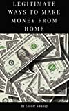If you are living paycheck to paycheck and needed extra money this book is definitely for you.Legitimate ways to make money from home will cover a lot of side hustles you might not of heard of that can make you a decent online income to pair with you...