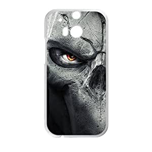 HUAH Skull Phone Case for HTC One M8 case