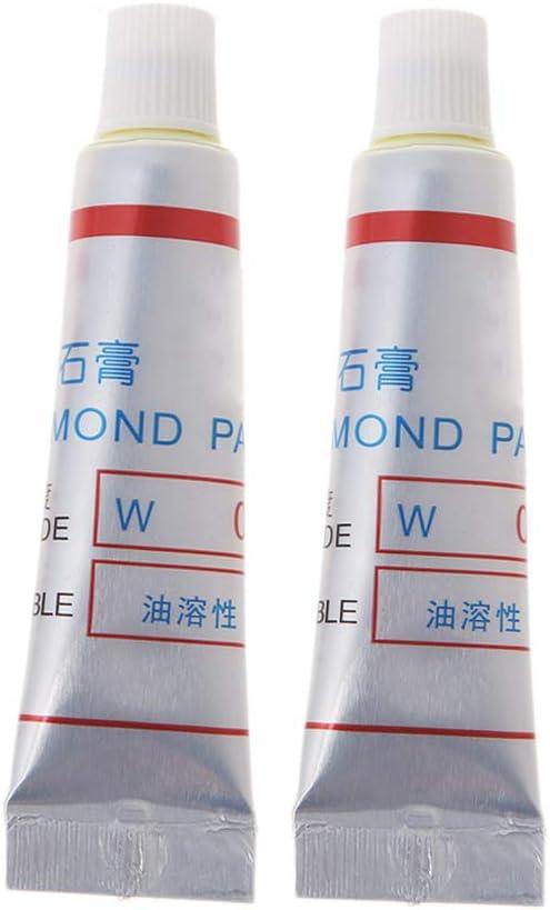 2pcs Diamond Buffing Compound Abrasive Polishing Paste Compound Micron Glass Metal Grinding Tool Multi Specification