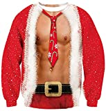 Leapparel Mens and womens Ugly Christmas party