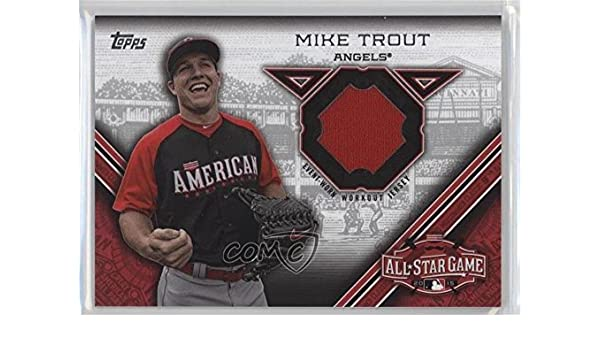 new concept 90be3 8d403 Amazon.com: Mike Trout (Baseball Card) 2015 Topps Update ...