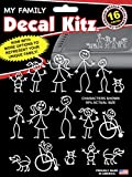 stick figure decals - Chroma 5309 Stick People Decal Kit, 16 piece