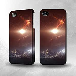 Apple iPhone 4 / 4S Case - The Best 3D Full Wrap iPhone Case - Outer Space