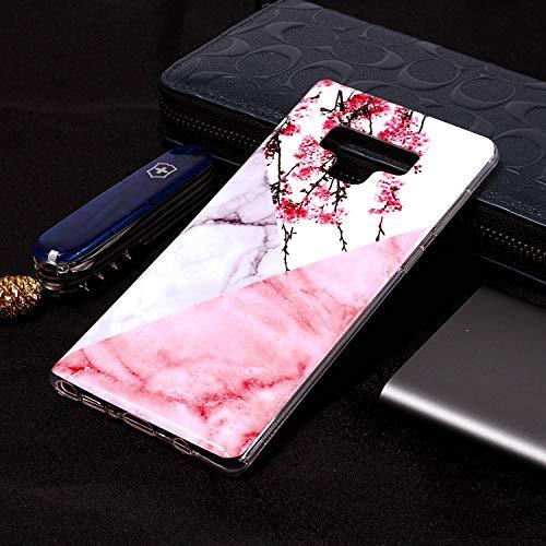 Note et Galaxy Mate9 flower Housse étui plum téléphone Coque Anti inShang Slip Samsung pour 9 Fait Mince Coque étui Portable de léger TPU dans Le matériel Ultra Rigide qOpEw