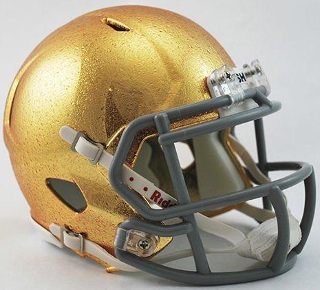 Notre Dame Fighting Irish Riddell Mini Speed HYDROFX Football Helmet