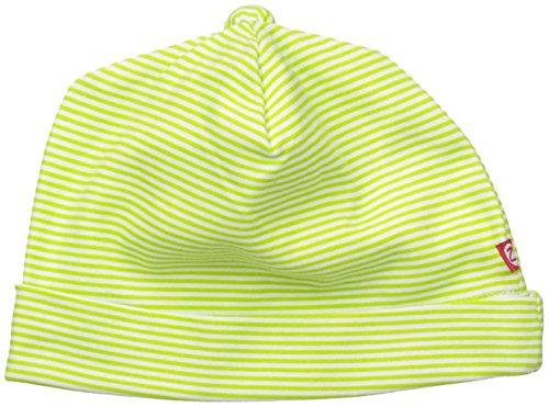 Zutano Baby Candy Stripe Hat, Lime, 6M (3-6 Months) (Cotton Zutano Hat)