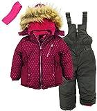 Pink Platinum 3-Piece Snowsuit for Girls & Toddlers – Geo Print Jacket
