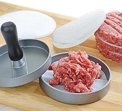 id/éal pour BBQ E-PRANCE Presse /À Burgers Steak Hach/é Hamburger presse Burger Press Hamburger Maker aluminium avec rev/êtement anti-adh/ésif