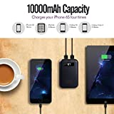 imuto 10000mAh Pocket Size Portable Charger Power