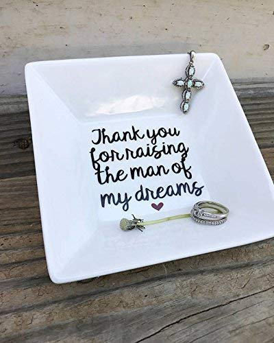 Mother of the groom gift, ring dish