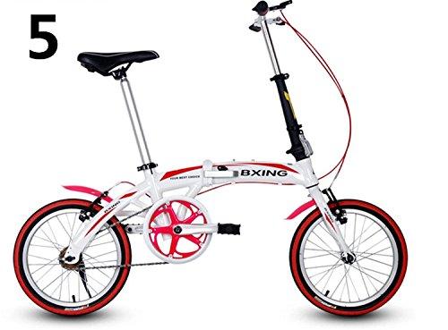 16インチ 折りたたみ自転車 折畳自転車 おりたたみ自転車 MTB おりたたみ自転車W688 B00QA16GQAホワイト