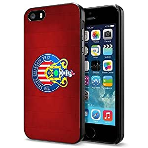 diy zhengSoccer MLS CLUB DEPORTIVO CHIVAS USA FC LOGO SOCCER FOOTBALL , Cool Ipod Touch 5 5th Smartphone Case Cover