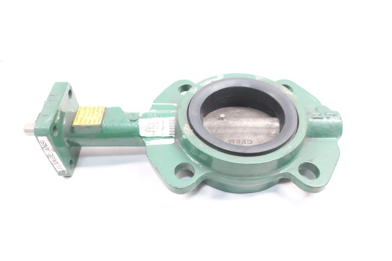 Center LINE 55 Iron Wafer Butterfly Valve 3IN