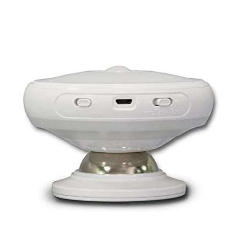 Lámpara de pared LED ilumina 360° giratorio luz Sensor de movimiento luz ojo protección cuerpo