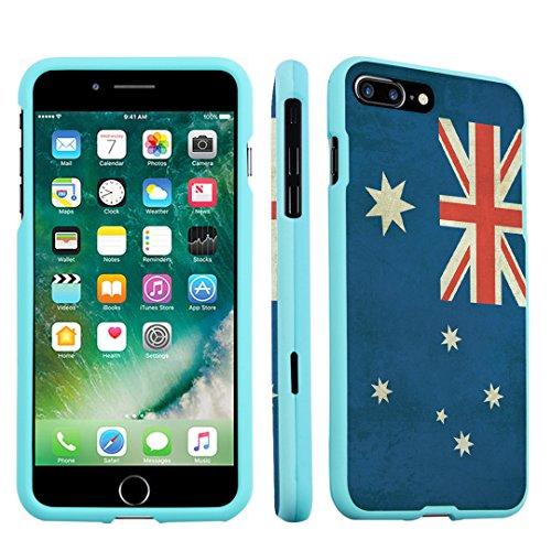 iPhone 7 Plus Case, DuroCase Hard Case Mint for Apple iPhone 7 PLUS (Released in 2016) - (Australia - Tiffanys Australia