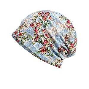 Luccy K Women's Lightweight Turban Slouchy Beanie Hat Cap