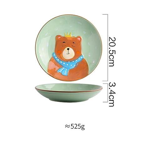 Mini Kitchen - Juego de vajilla Infantil de cerámica para niños ...