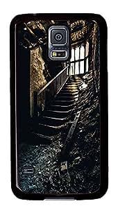Samsung Galaxy S5 Staircase PC Custom Samsung Galaxy S5 Case Cover Black