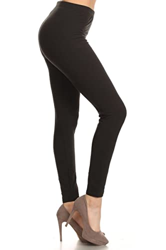 Leggings Depot Ultra Soft Basic Solid REGULAR and PLUS 30 COLORS Best Seller Leggings Pants