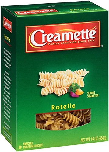 Creamette Rotelle Enriched Pasta 16 oz. (Pack of 2)