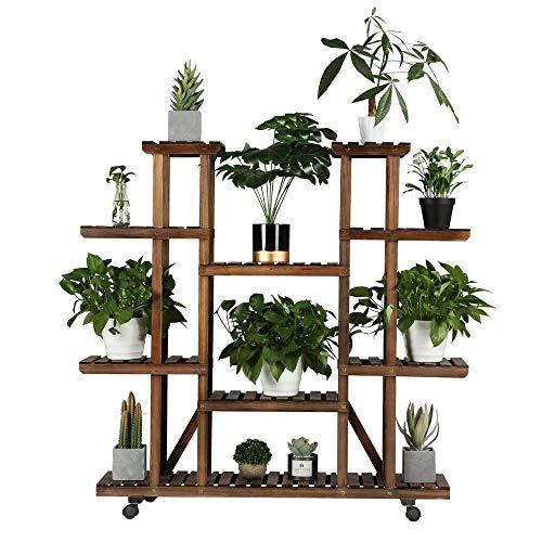 YAHEETECH Plant Stand Shelf