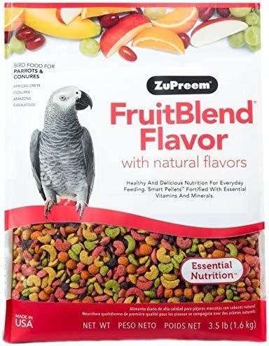 Zupreem licuado de frutas Parrot Conuer, 1.6 kg