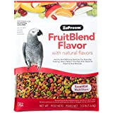 ZuPreem FruitBlend Flavor Pellets Bird Food for Parrots and Conures | Powerful Pellets Made in USA, Naturally Flavored for Ca