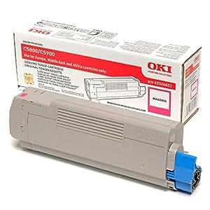 Magenta Toner Cartridge For C5800/c5900