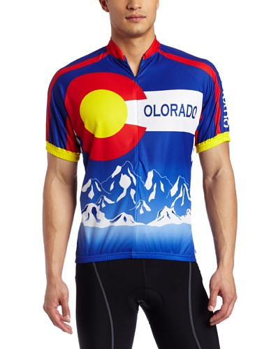 9ec5bbcdf Amazon.com   Canari Cyclewear Men s Colorado Short Sleeve Cycling Jersey    Clothing