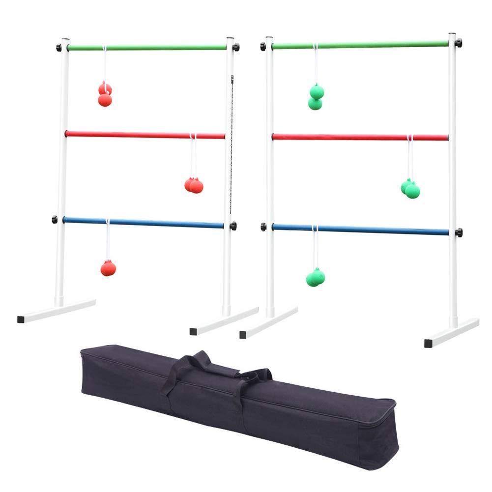 Ladder Ball Game Set Fun Family Ladder Golf Ball Kit Beach Ladder Ball Toss Game for Adults Kids by Aardich