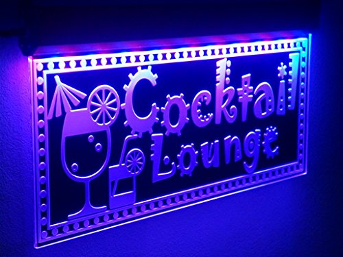 H018 QUALITY Animated COCKTAIL Bar LED Signs OPEN Neon Light PUB CAFE Party Juice Juice Bar Led Sign