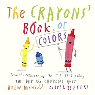 Book Cover: Crayons' book of colors