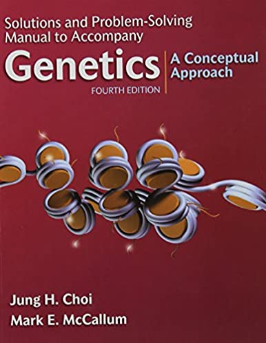 solutions and problem solving manual to accompany genetics a rh amazon com